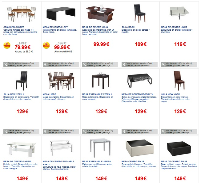 Conforama muebles de salones super ofertas - Conforama salones ...