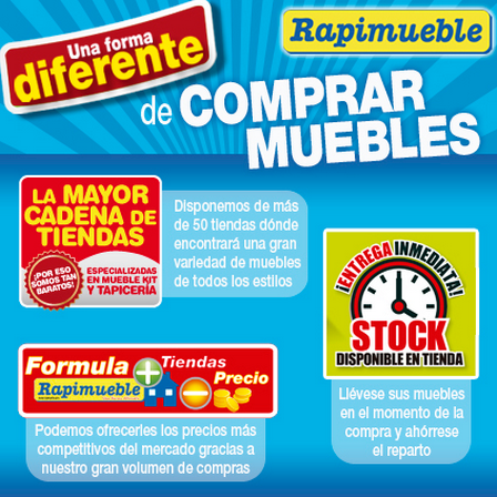 Rapimueble cat logo ofertas for Dormitorios rapimueble
