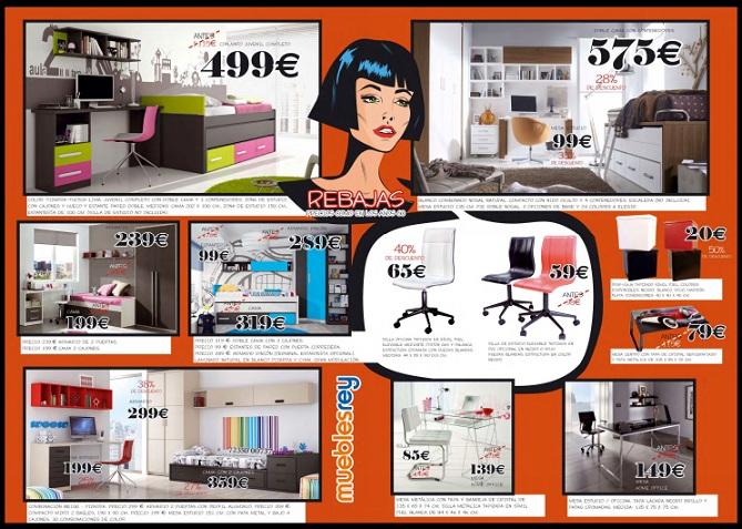 Dormitorios juveniles muebles rey ofertas for Ofertas muebles rey zaragoza