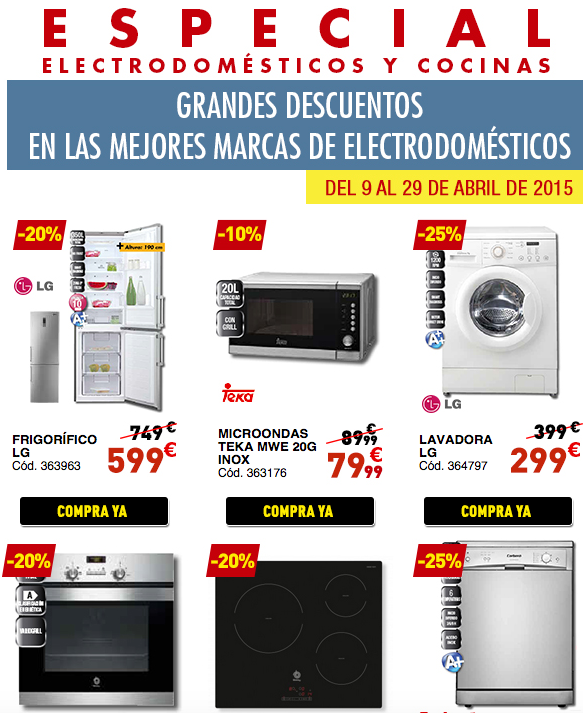 abril 2015 catalogo conforama